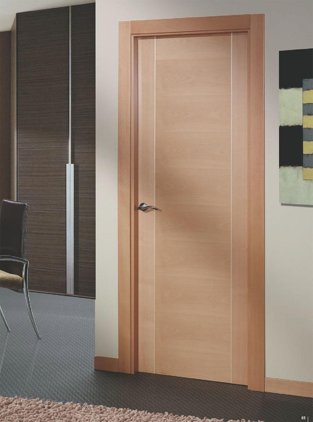 Puertas de madera modernas para interiores resultado de for Puertas interiores modernas